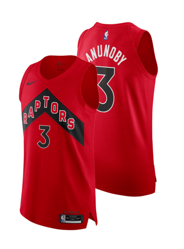 OG Anunoby 2020-21 Icon Jersey (Autographed)