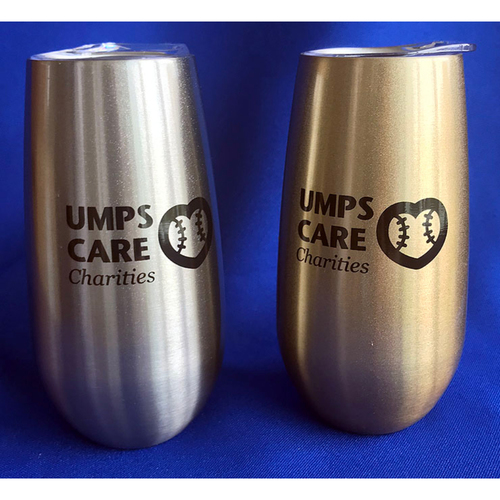 Photo of UMPS CARE AUCTION: UMPS CARE Champagne Tumbler Set in Gold and Silver