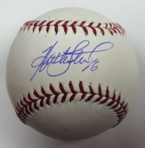 Photo of Huston Street Autographed Baseball