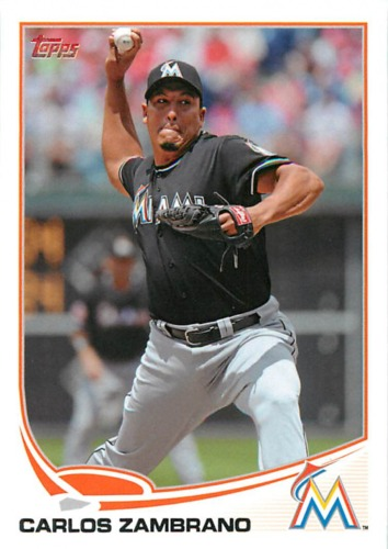 Photo of 2013 Topps #238 Carlos Zambrano