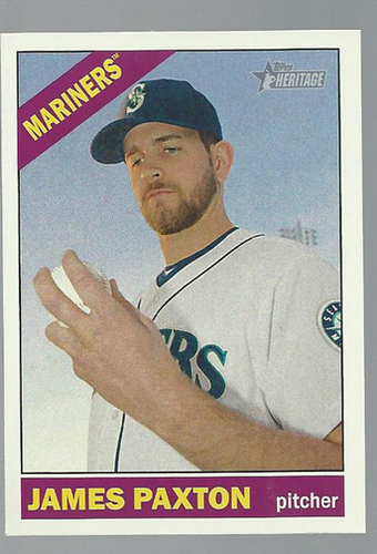 Photo of 2015 Topps Heritage #354 James Paxton