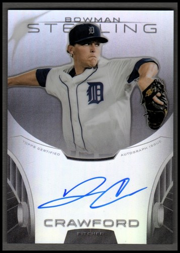 Photo of 2013 Bowman Sterling Prospect Autographs Refractors #JCR Jonathon Crawford