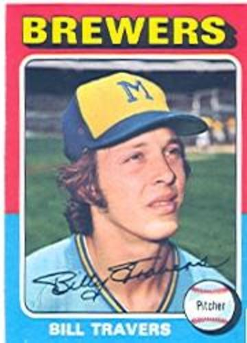 Photo of 1975 Topps #488 Bill Travers RC