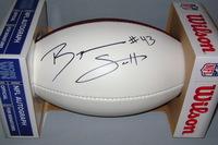 NFL - BILLS BRYAN SCOTT SIGNED PANEL BALL
