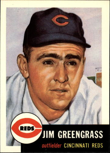 Photo of 1991 Topps Archives 1953 #209 Jim Greengrass