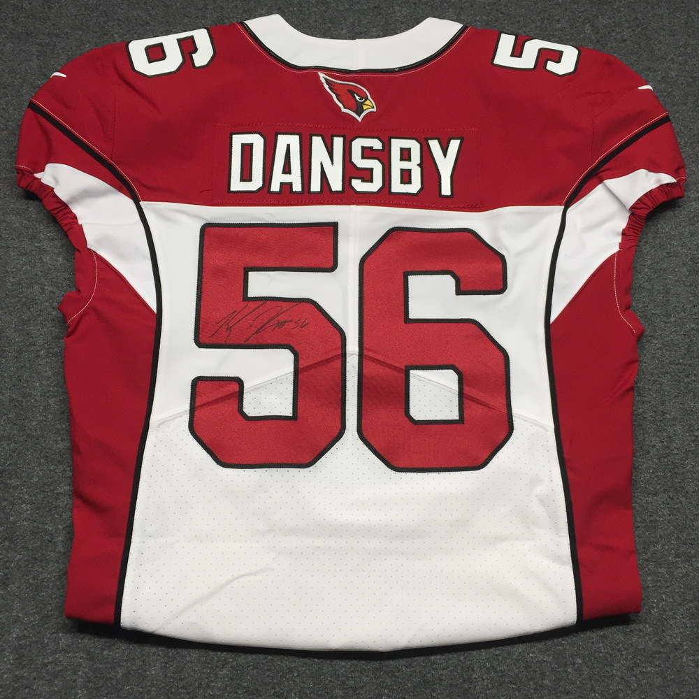 NFL Auction | STS - CARDINALS KARLOS DANSBY SIGNED AND GAME ISSUED ...