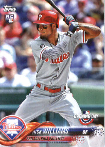 Photo of 2018 Topps Opening Day #120 Nick Williams