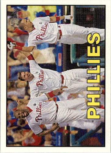 Photo of 2016 Topps Heritage #359 Philadelphia Phillies