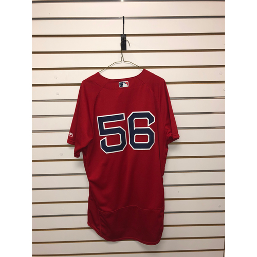 Photo of Joe Kelly Game-Used September 16, 2016 Home Alternate Jersey