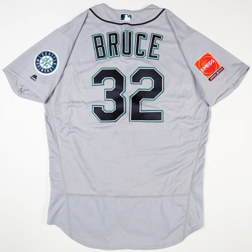 2019 Japan Opening Day Series - Game Used Jersey - Jay Bruce, Seattle Mariners at Oakland Athletics -3/18/2019 , 3/20/2019