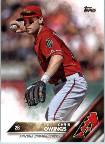 Photo of 2016 Topps #687 Chris Owings