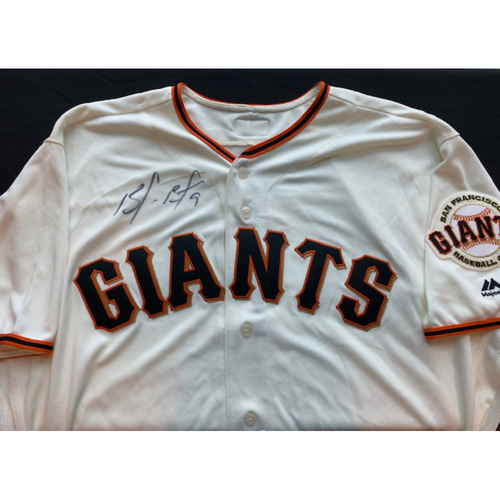 Photo of Giants End of Season Auction: Brandon Belt Signed Jersey
