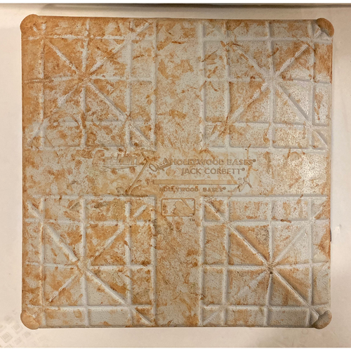 Photo of Game Used First Base - Used 10/3, 10/4 and 10/9 - NLDS Games 1, 2 and 5