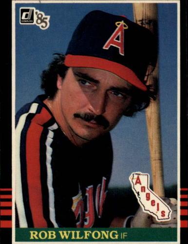 Photo of 1985 Donruss #402 Rob Wilfong