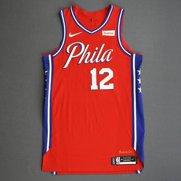 Image of Tobias Harris - Philadelphia 76ers - Game-Worn Statement Edition Jersey - 2019-20 Season