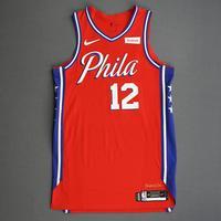 Tobias Harris - Philadelphia 76ers - Game-Worn Statement Edition Jersey - 2019-20 Season