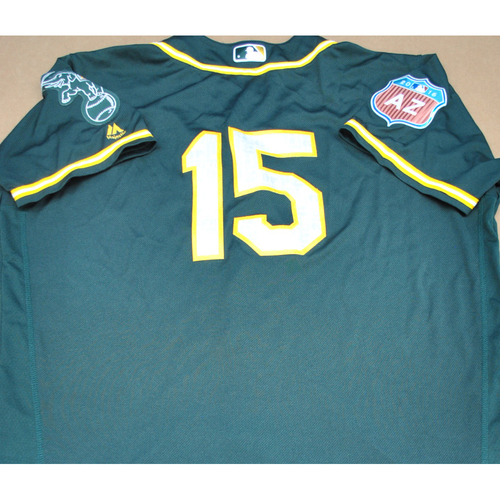 Photo of 2016 Spring Training - Spring Training Game Used Jersey - Andrew Lambo (Athletics)- Size- 50