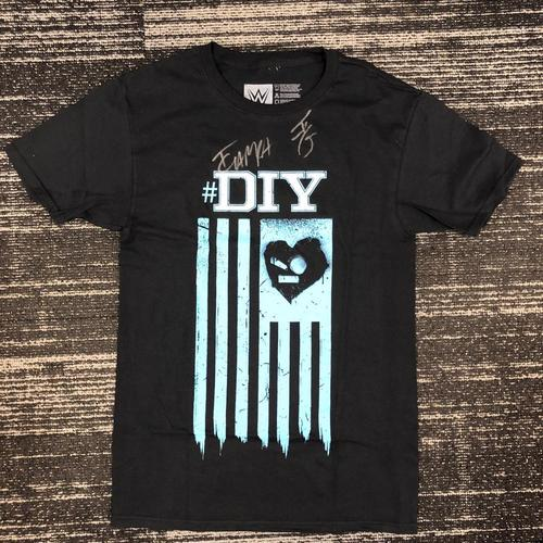 "Photo of Johnny Gargano & Tommaso Ciampa SIGNED ""DIY"" T-Shirt"