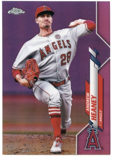 Photo of 2020 Topps Chrome Pink Refractors #28 Andrew Heaney