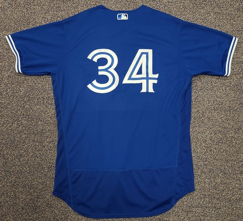Photo of Authenticated Team Issued 2020 Spring Training Jersey: #34 Matt Shoemaker. Size 48