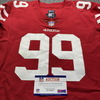 STS - 49ers Javon Kinlaw Game Used Jersey (11/5/20) Size 46