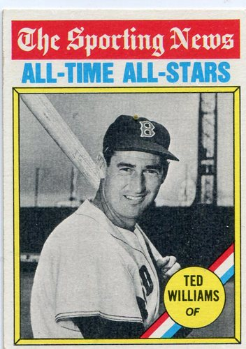 Photo of 1976 Topps #347 Ted Williams All-Time Great