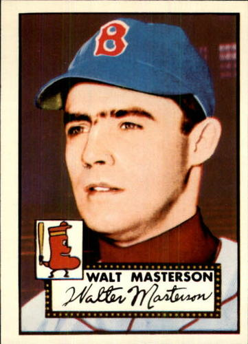 Photo of 1983 Topps 1952 Reprint #186 Walt Masterson