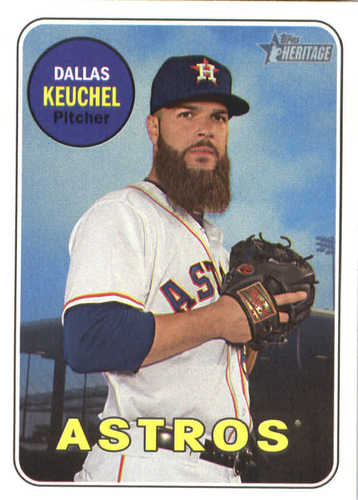 Photo of 2018 Topps Heritage #202 Dallas Keuchel
