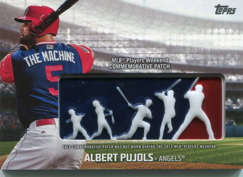 Photo of 2018 Topps Players Weekend Patches #PWPAP Albert Pujols
