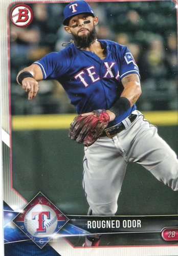 Photo of 2018 Bowman #86 Rougned Odor