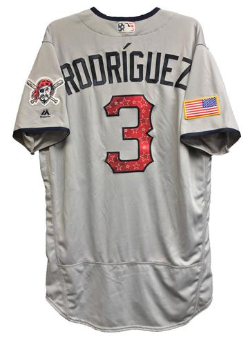 Photo of Sean Rodriguez Team-Issued 2018 Stars and Stripes Jersey