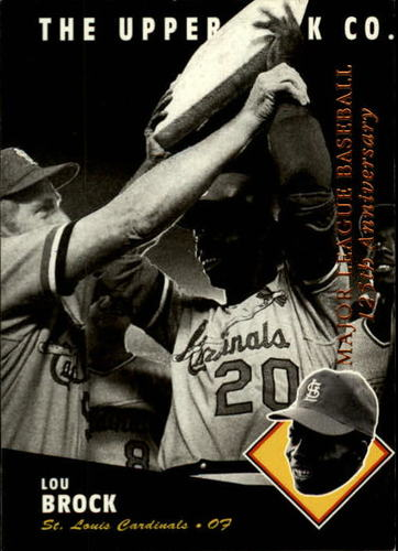 Photo of 1994 Upper Deck All-Time Heroes #79 Lou Brock