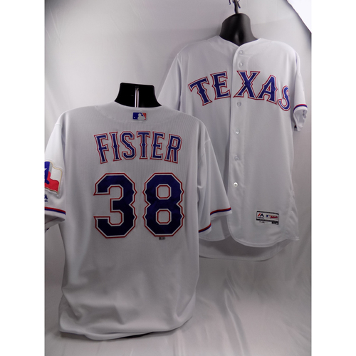 Photo of 3/30/18 - Game-Used White Jersey - Doug Fister