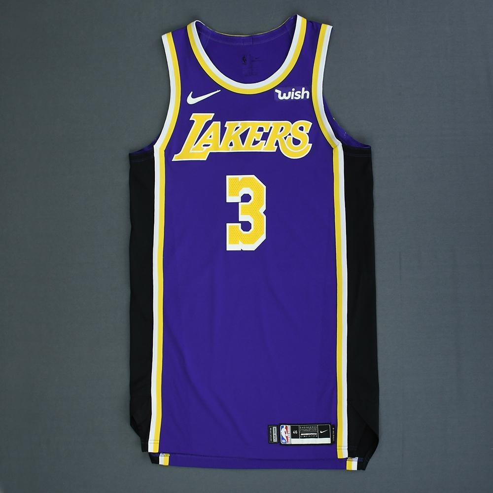 competitive price 96041 235dd Josh Hart - Los Angeles Lakers - Game-Worn Statement Edition ...