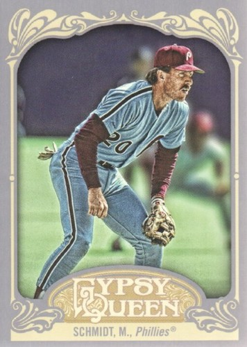 Photo of 2012 Topps Gypsy Queen #258A Mike Schmidt
