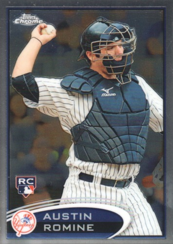 Photo of 2012 Topps Chrome #156 Austin Romine RC