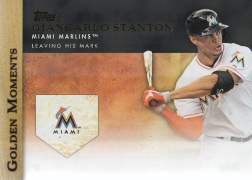 Photo of 2012 Topps Update Golden Moments #GMU24 Giancarlo Stanton