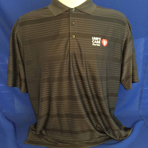 Photo of UMPS CARE AUCTION: UMPS CARE Antigua Illusion Polo Shirt, Smoke, Size 3XL