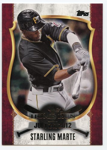Photo of 2015 Topps Update First Home Run Silver #FHR14 Starling Marte