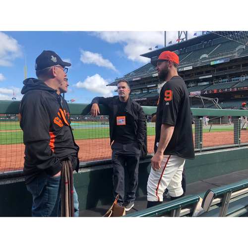 Photo of Giants Wives Auction: Pre-Game Field Visit and Brandon Belt Meet & Greet with Voicemail Recording
