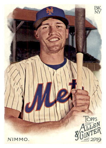 Photo of 2019 Topps Allen and Ginter #191 Brandon Nimmo