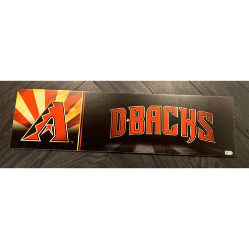 Photo of 2019 D-backs Nameplate