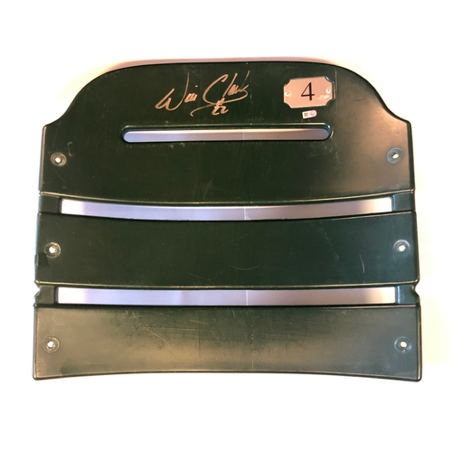 Photo of Will Clark Autographed AT&T Park Seat Back