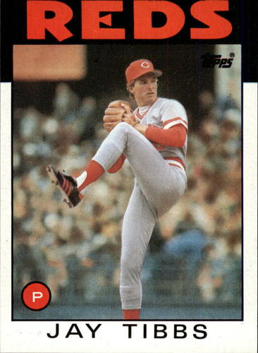 Photo of 1986 Topps #176 Jay Tibbs