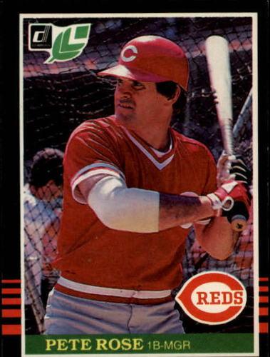 Photo of 1985 Leaf/Donruss #144 Pete Rose