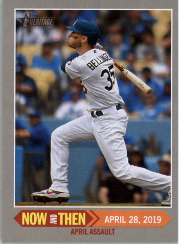 Photo of 2019 Topps Heritage Now and Then #NT13 Cody Bellinger