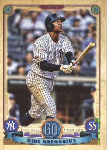 Photo of 2019 Topps Gypsy Queen #251 Didi Gregorius