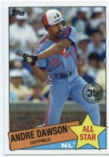Photo of 2020 Topps '85 Topps All Stars #85AS13 Andre Dawson