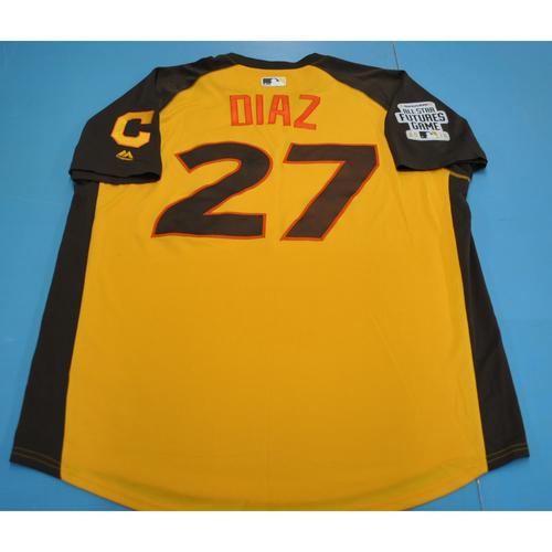 2016 Futures Game - Yandy Diaz Batting Practice Worn Jersey