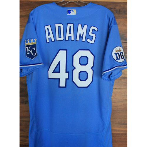 Photo of Alex's Lemonade Stand Foundation: Game-Used Chance Adams Jersey (Size 46 - 9/26/20 DET @ KC)